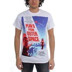 Horror - Mens Plan 9 T-Shirt in Black