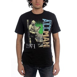 Duane Allman - Mens Holiday Inn T-shirt in Black