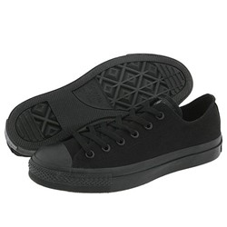 Converse Chuck Taylor All Star Shoes (M5039) Low Top Black Monochrome