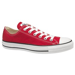 Converse Chuck Taylor All Star Shoes (M9696) Low Top in Red