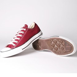 Converse Chuck Taylor Maroon Low Top Shoes (M9691)