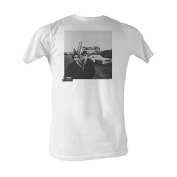 Blues Brothers, The - Hip To B Square Mens T-Shirt In White