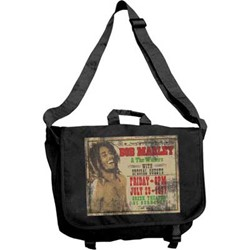 Bob Marley - Wailers Large Messenger unisex-adult Messenger Bag in Charcoal