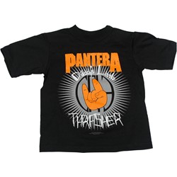 Pantera - Lil Thrasher Toddler Tee Babywear In Black