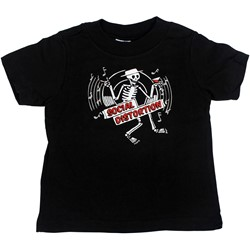 Social Distortion - Skelly Disc Toddler Tee Babywear In Black