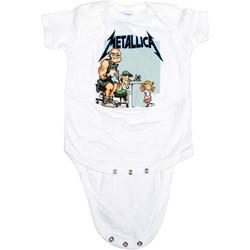 Metallica - Tattoo Onesie Babywear In White