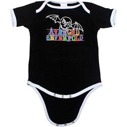 Avenged Sevenfold - Infant Doodle Bat Onesie In Black
