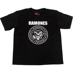 Ramones - Seal Toddler Tee Babywear In Black