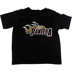 Pantera - Lil Dragster Toddler Tee Babywear In Black