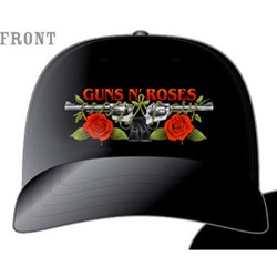 Guns N Roses - Roses And Pistols Unifit Hat In Black