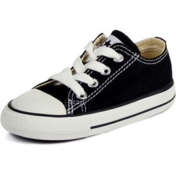 Converse Toddler/Youth Allstar Low Chuck Taylor Shoes in Black
