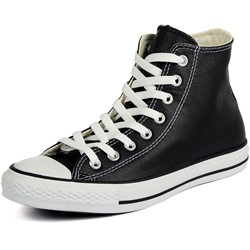 Converse Chuck Taylor All Star Shoes (1S581) Hi Black Leather
