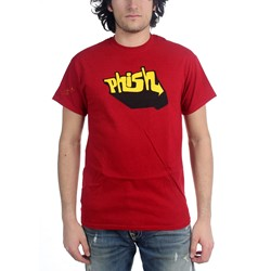Phish - Mens Aquaphonic T-Shirt In Cherry Red