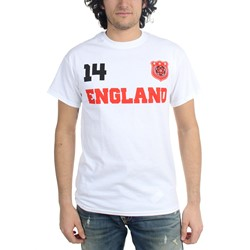 Freeze - Mens England Soccer Team T-Shirt
