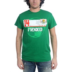 Freeze - Mens Mexico Soccer Team T-Shirt