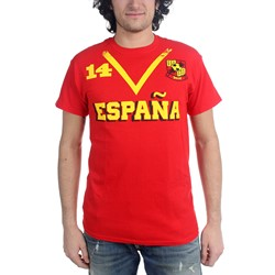 Freeze - Mens Spain Soccer Team T-Shirt
