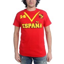 Freeze - Mens Spain Soccer Team T-Shirt