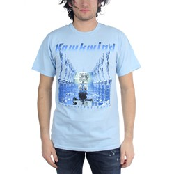 Hawkwind - Blood Of The Earth Mens T-Shirt In Lt Blue