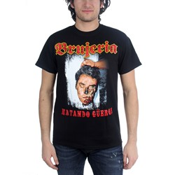 Brujeria - Matando Gueros Adult T-Shirt In Black