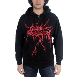 Cattle Decapitation - Mens Logo Hoodie in Black