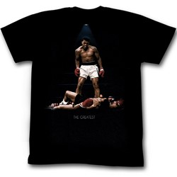 Muhammad Ali - Mens All Over Again T-Shirt In Black