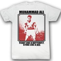 Muhammad Ali - Mens Lurkin T-Shirt In White