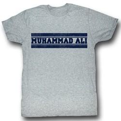 Muhammad Ali - Mens Ali Gym Shirt T-Shirt In Gray Heather