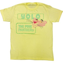 Pink Panther - Mens Yolo T-Shirt