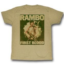 Rambo - Mens Poster T-Shirt