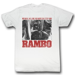 Rambo - Mens No One T-Shirt