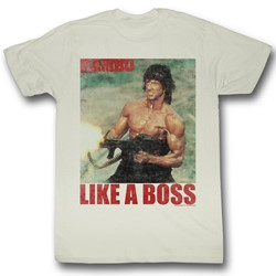 Rambo - Mens Boss Rambo T-Shirt