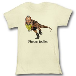 Mr. T - Mens Piteous Foolious T-Shirt in Vintage Bf