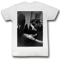 James Dean - Mens Bongo Bongo T-Shirt in White