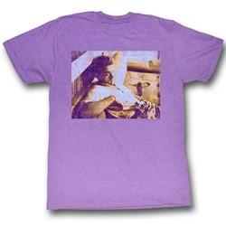 James Dean - Mens Dean T-Shirt in Neon Purple Heather