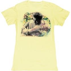 James Dean - Womens Cloudy T-Shirt in Banana Bf