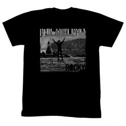 Rocky - Mens Philadelphia T-Shirt in Black