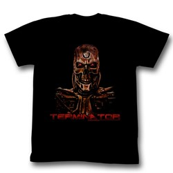 Terminator - Mens Code Red T-Shirt in Black