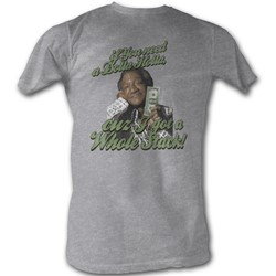 Sanford & Son - Dolla Mens T-Shirt In Grey Heather