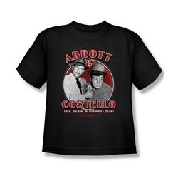 Abbott & Costello - Big Boys Bad Boy T-Shirt In Black