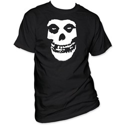 The Misfits -  Fiend Skull Adult S/S T-Shirt in Black
