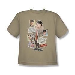 Mr Bean - Big Boys Bean There T-Shirt In Sand