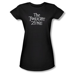 Twilight Zone - Womens Logo T-Shirt In Black