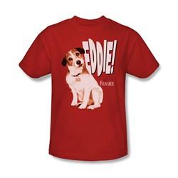 Frasier - Mens Eddie T-Shirt In Red