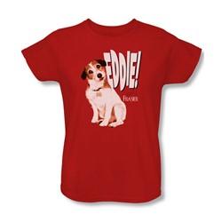 Frasier - Womens Eddie T-Shirt In Red