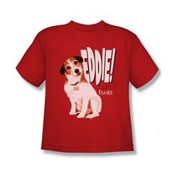 Frasier - Big Boys Eddie T-Shirt In Red
