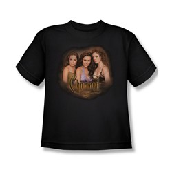 Charmed - Big Boys Smokin T-Shirt In Black