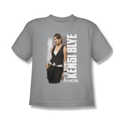 Ncis La - Big Boys Kensi T-Shirt In Silver