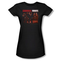 Criminal Minds - Womens The Crew T-Shirt In Black
