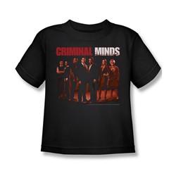 Criminal Minds - Little Boys The Crew T-Shirt In Black
