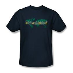 Amazing Race - Mens Around The World T-Shirt In Navy